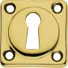 sleutelplaatje vierkant mespol