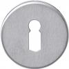 rvs rond sleutelplaatje verdekt met metaal 35132