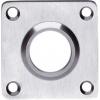 rvs vierkante rozetten plat 42x42mm 35192