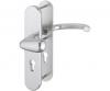 Veiligheidsgarnituur marseille knop/kruk aluminium massief rond SKG**®