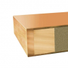 HPL deur 60 min brandvertragend dicht model dikte 40 mm