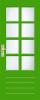 N 526 Stapeldorpeldeur met kruisroeden BW 57,6 cm
