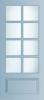 N 446 Paneel deur met kruisroeden BW 57,6 cm