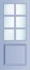 N 449 Paneel deur met kruisroeden BW 89,7 cm