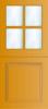 N 450 B Paneel deur met kruisroeden BW 116,5 cm