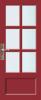 N 546 Paneel deur met kruisroeden BW 60 cm