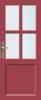 N 549 Paneel deur met kruisroeden BW 90 cm