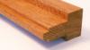 Meranti kozijnhout profiel B 67 x 114 mm gevingerlast licht grijs gegrond