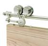 Exterus Design schuifdeur systeem voor een enkele deur max 86 cm breed